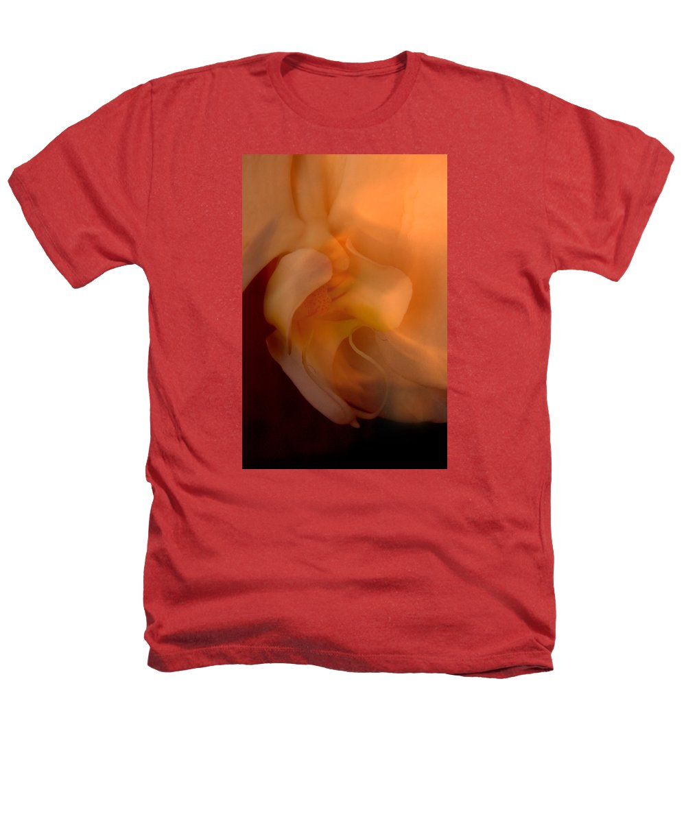 Orchid Heathers T-Shirt featuring the photograph Orchid Detail by Michael Ziegler