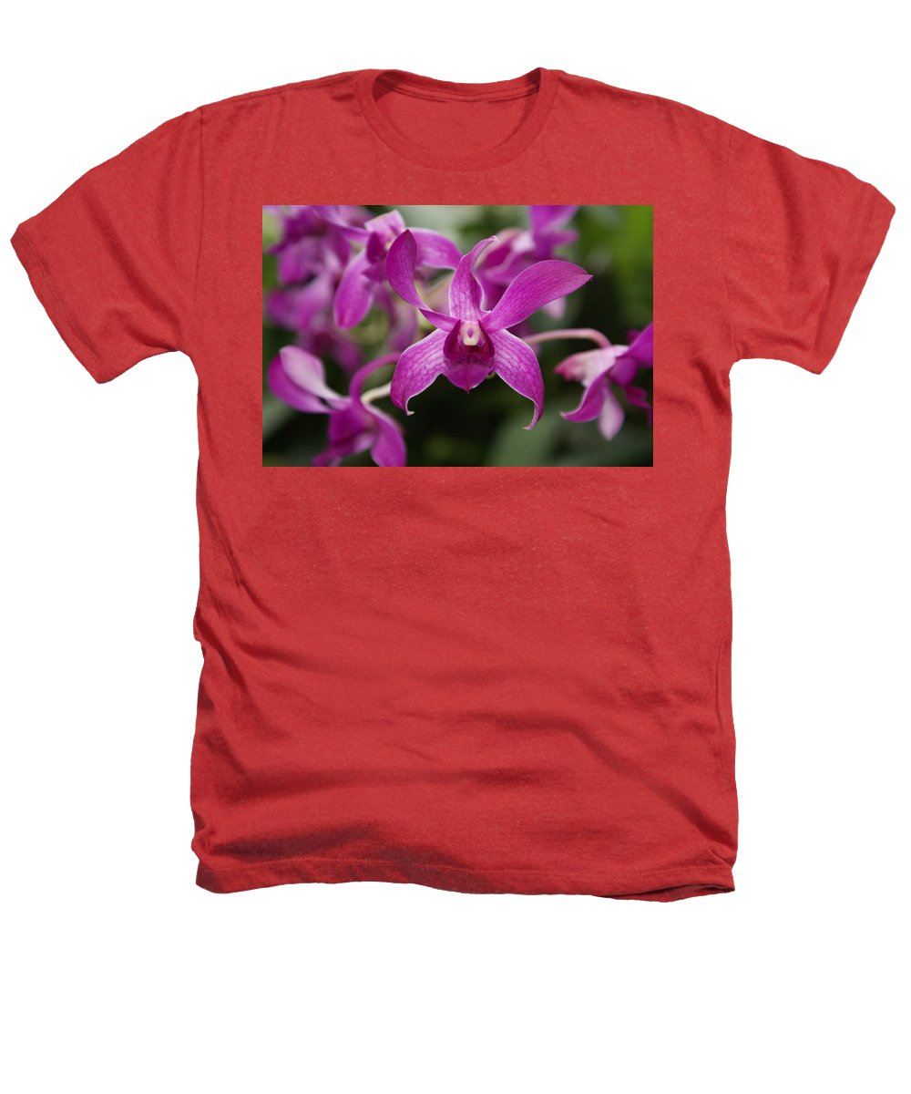 Orchid Heathers T-Shirt featuring the photograph Orchid by Heather Coen