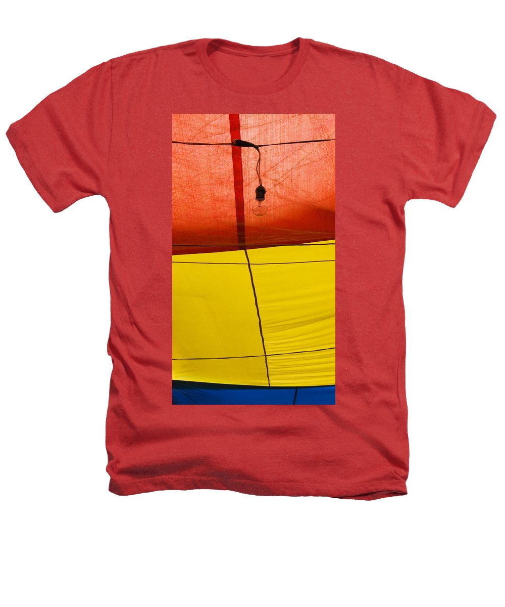 Bulb Heathers T-Shirt featuring the photograph Primary Light by Skip Hunt