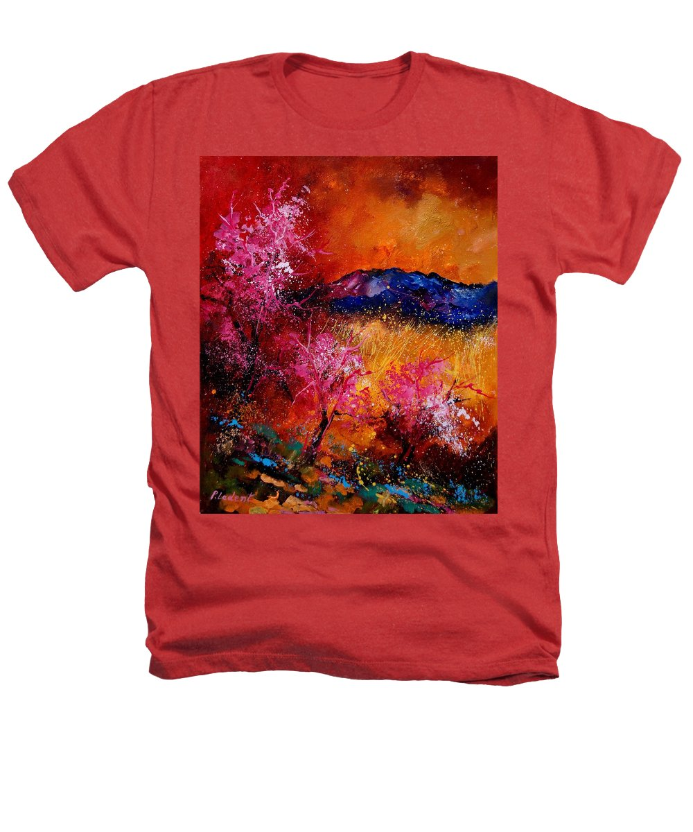 Provence Heathers T-Shirt featuring the painting Provence560908 by Pol Ledent