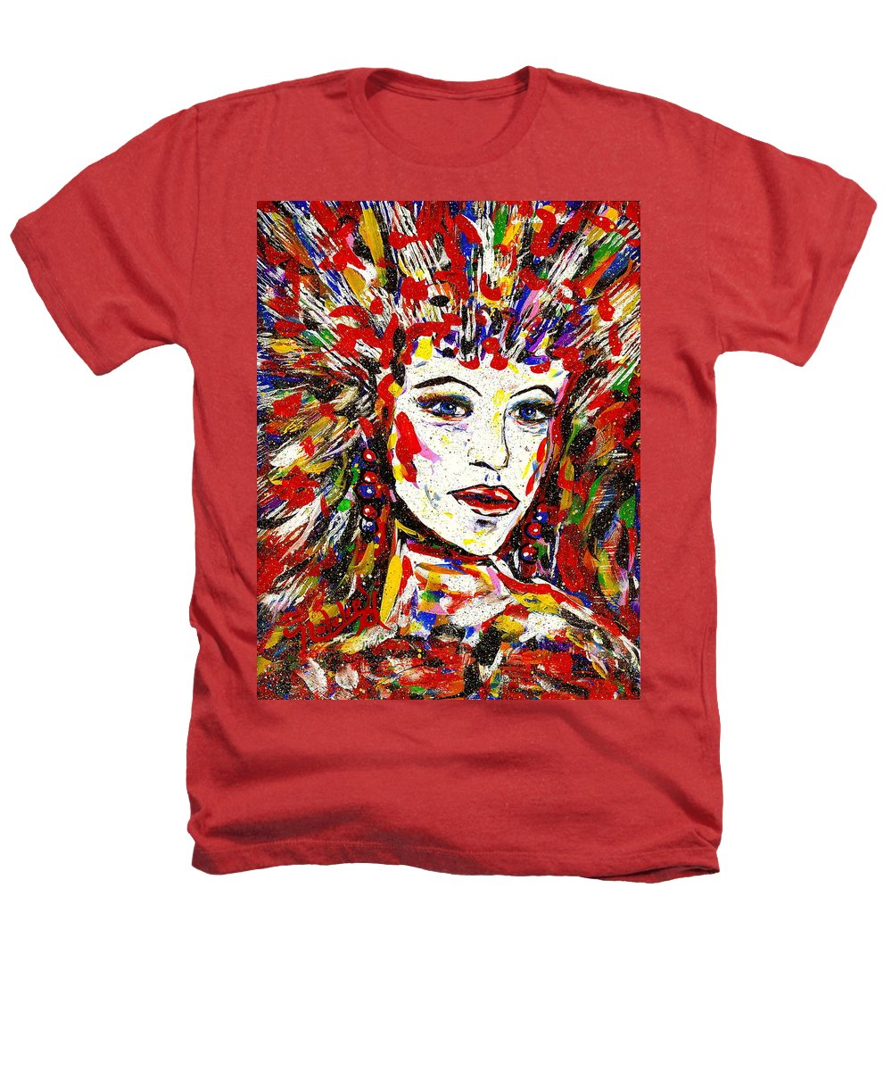 Abstract Art Heathers T-Shirt featuring the painting Rainbow by Natalie Holland