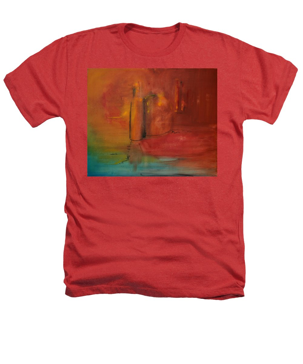 Still Heathers T-Shirt featuring the painting Reflection Of Still Life by Jack Diamond
