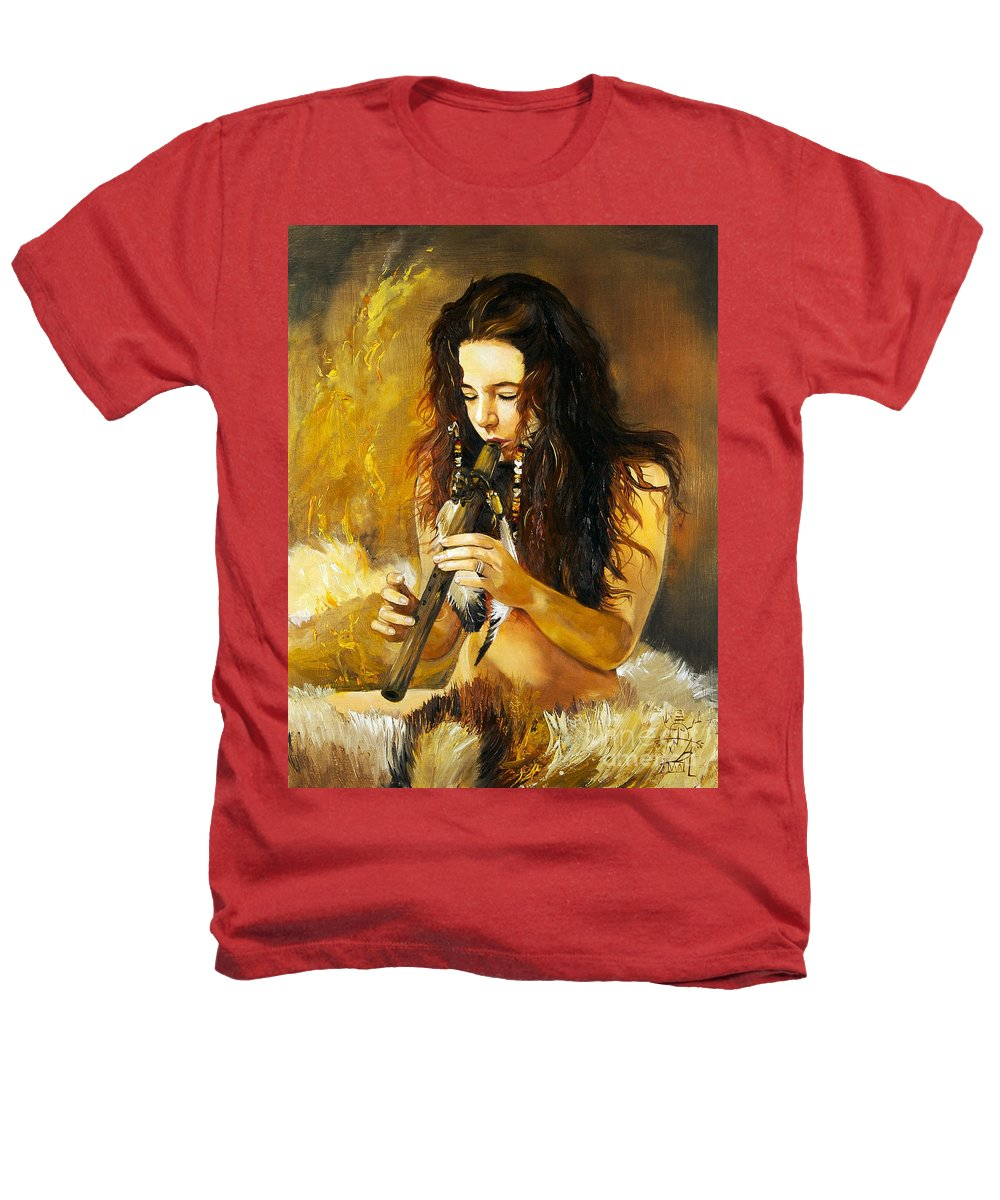 Woman Heathers T-Shirt featuring the painting Release by J W Baker