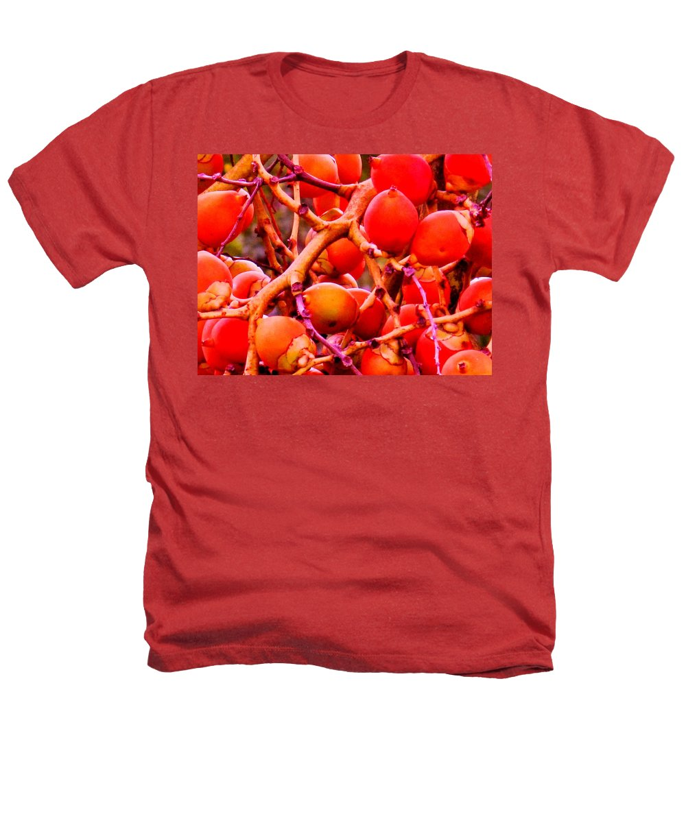 Red Heathers T-Shirt featuring the photograph Romney Red by Ian MacDonald