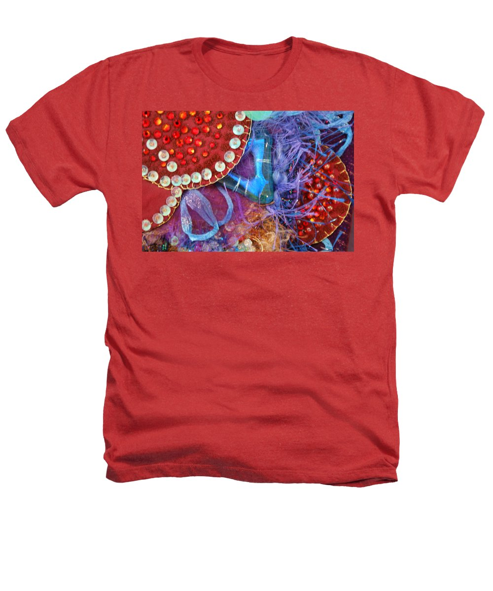 Heathers T-Shirt featuring the mixed media Ruby Slippers 7 by Judy Henninger