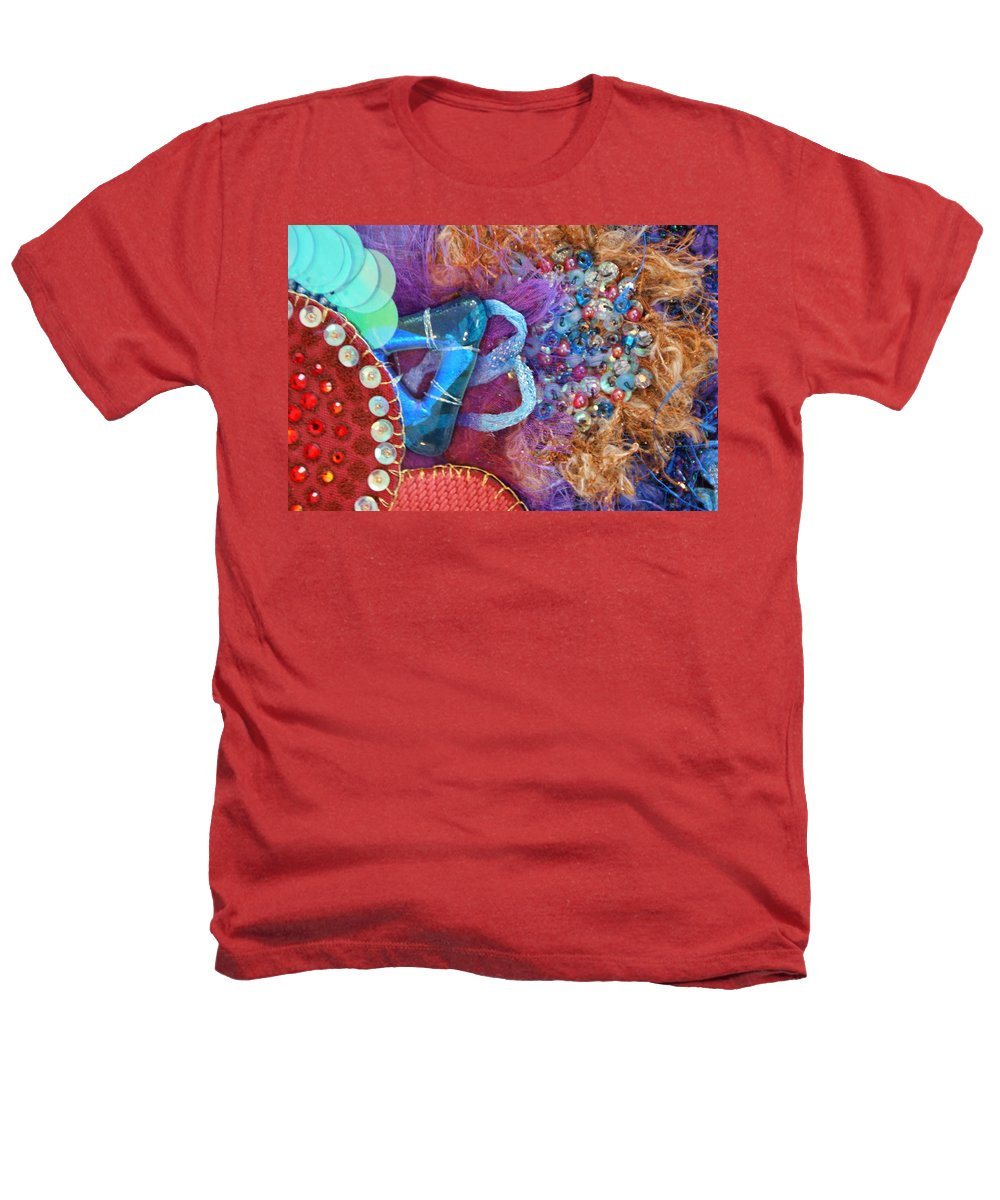 Heathers T-Shirt featuring the mixed media Ruby Slippers 8 by Judy Henninger