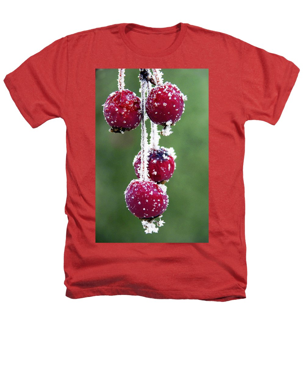 Berries Heathers T-Shirt featuring the photograph Seasonal Colors by Marilyn Hunt