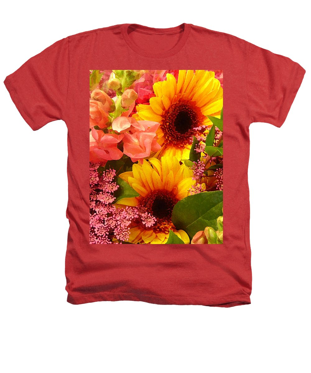 Roses Heathers T-Shirt featuring the photograph Spring Bouquet 1 by Amy Vangsgard