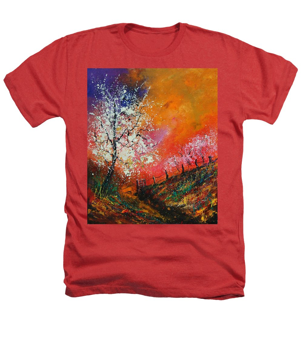 Spring Heathers T-Shirt featuring the painting Spring Today by Pol Ledent