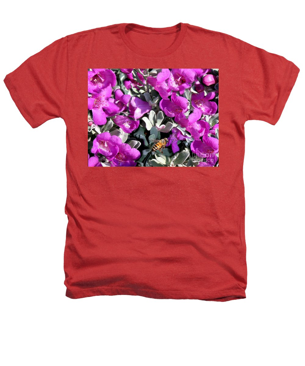 Nature Heathers T-Shirt featuring the photograph The Flight Of The Bumble Bee by Lucyna A M Green