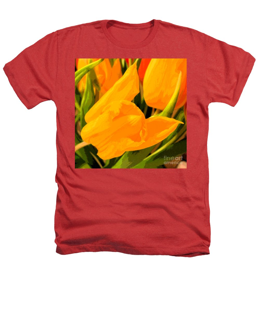 Tulip Heathers T-Shirt featuring the photograph Tulips by Amanda Barcon