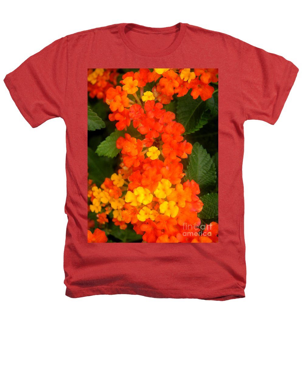 Nature Heathers T-Shirt featuring the photograph Volcanic Display by Lucyna A M Green