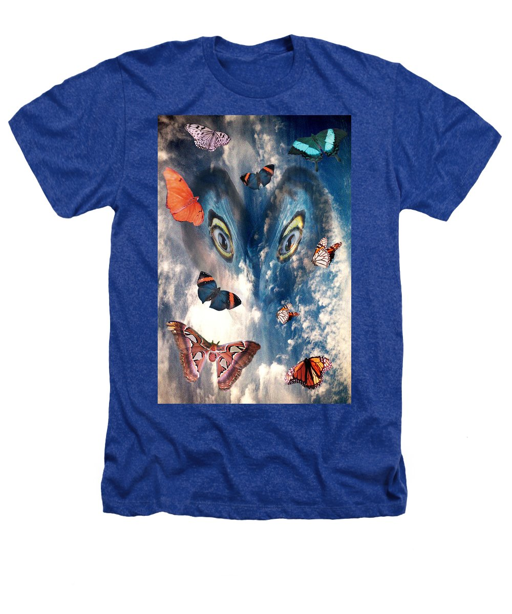 Air Heathers T-Shirt featuring the digital art Air by Lisa Yount