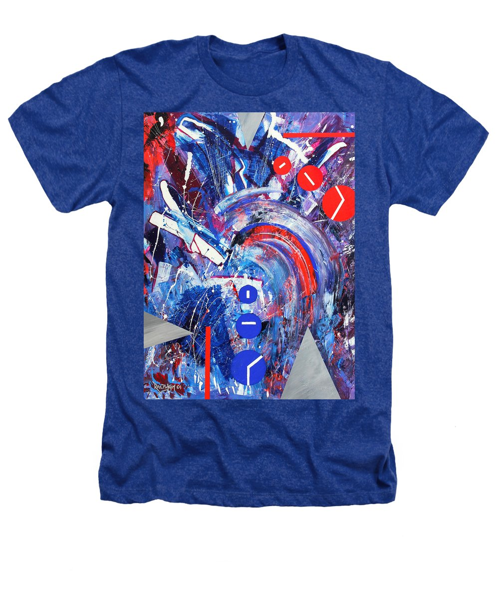 Abstract Heathers T-Shirt featuring the painting Dream Run 2001 by RalphGM