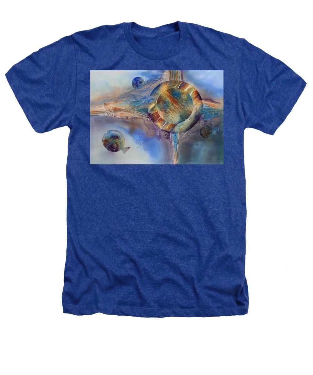 Spiritual Heathers T-Shirt featuring the painting Heavens Gate by Tara Moorman