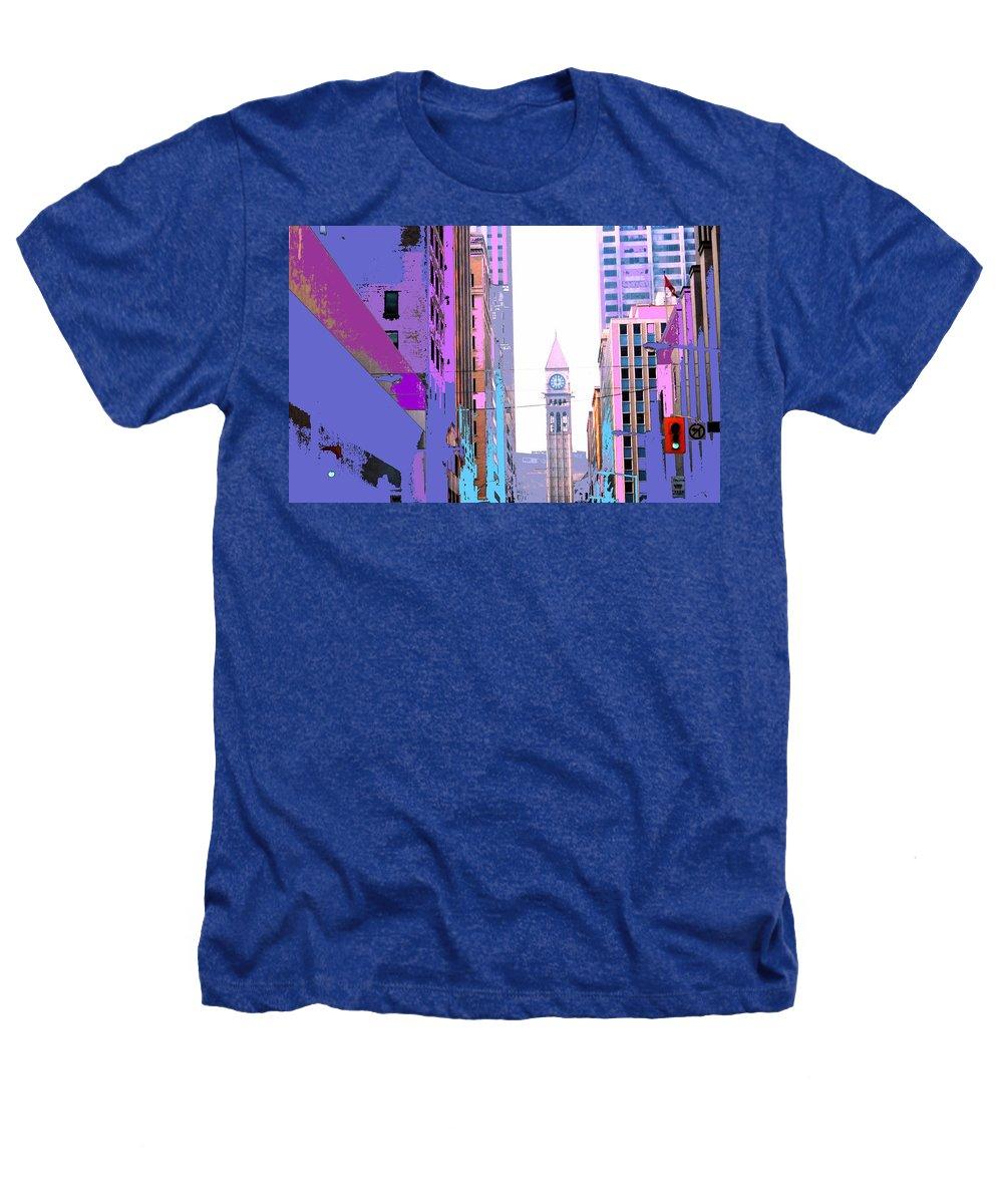 Bay Heathers T-Shirt featuring the photograph Toronto Old City Hall by Ian MacDonald