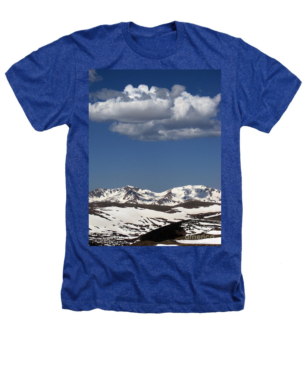 Colorado Heathers T-Shirt featuring the photograph Above It All by Amanda Barcon