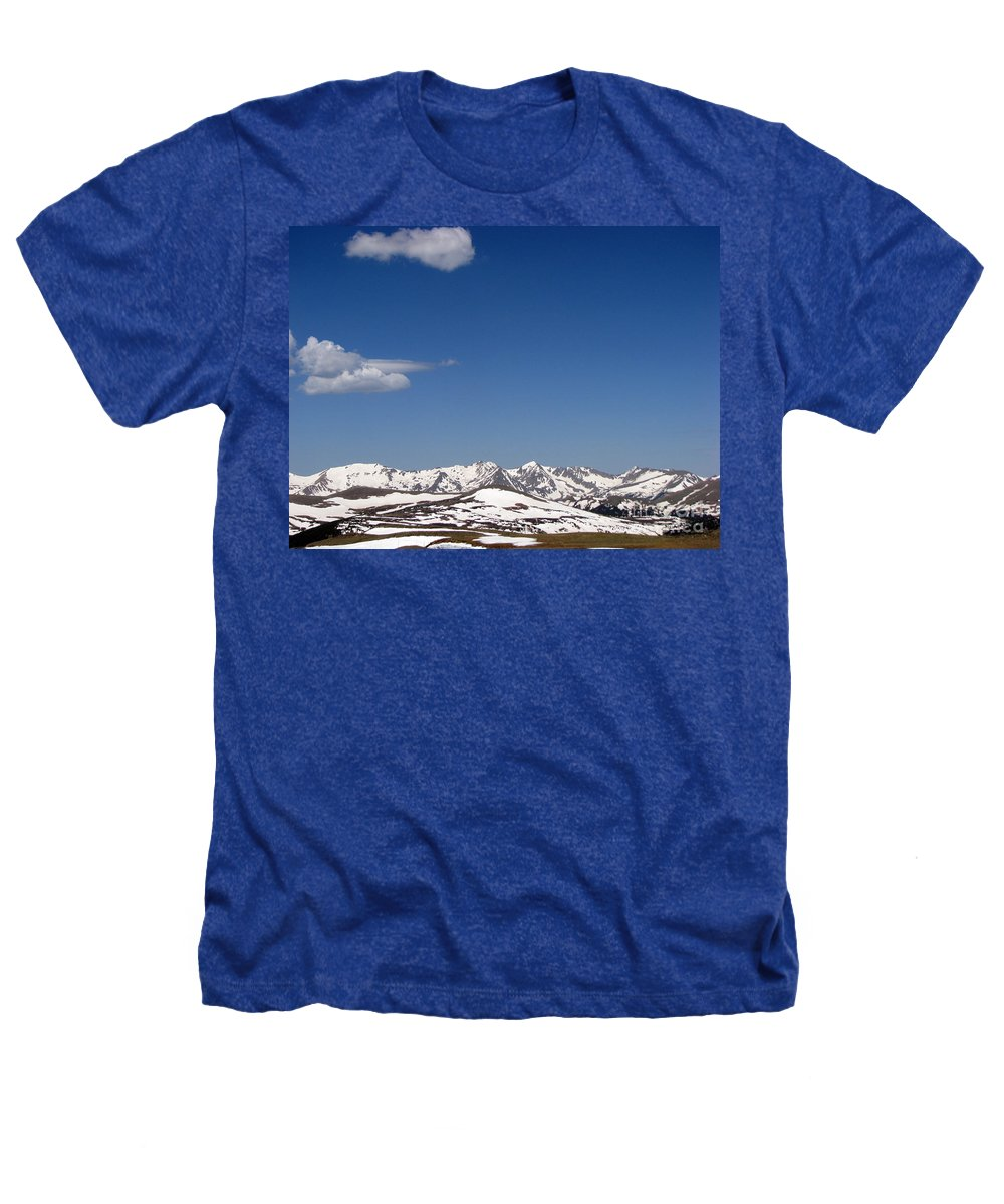 Mountains Heathers T-Shirt featuring the photograph Alpine Tundra Series by Amanda Barcon