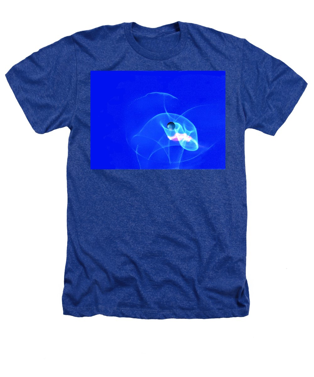 Abstract Heathers T-Shirt featuring the photograph Apparition Pearl by Steve Karol