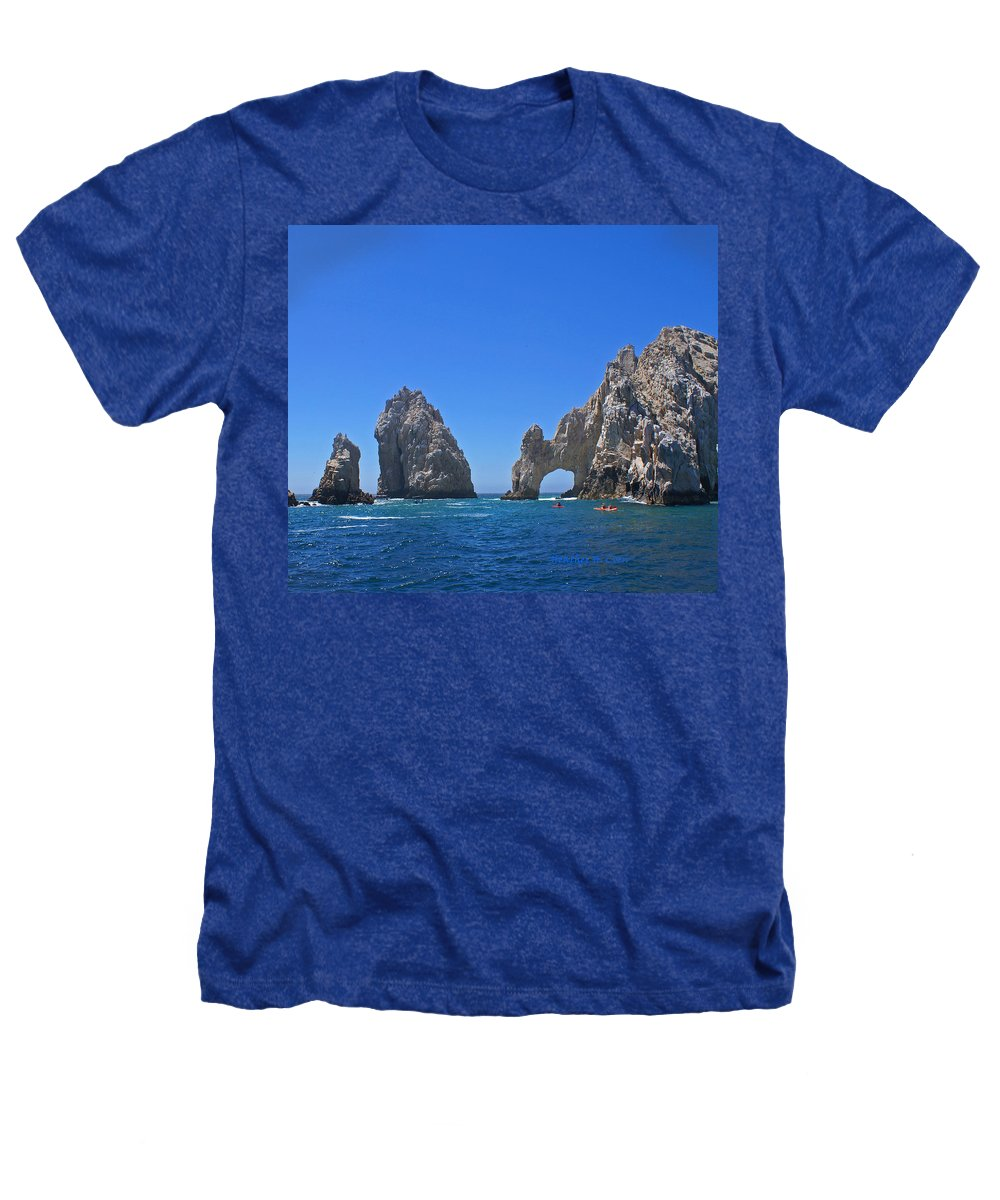 Mexico Heathers T-Shirt featuring the photograph Arch At Cabo San Lucas by Heather Coen