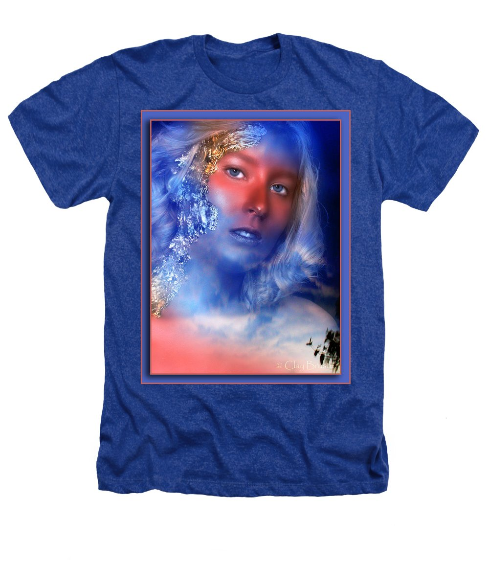 Clay Heathers T-Shirt featuring the photograph Beauty In The Clouds by Clayton Bruster