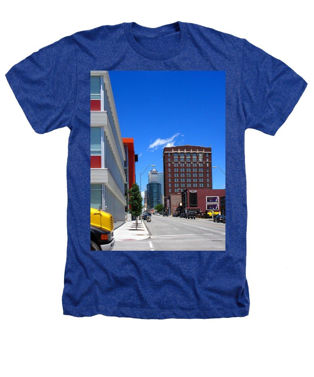 Kansas City Heathers T-Shirt featuring the photograph City Street by Steve Karol