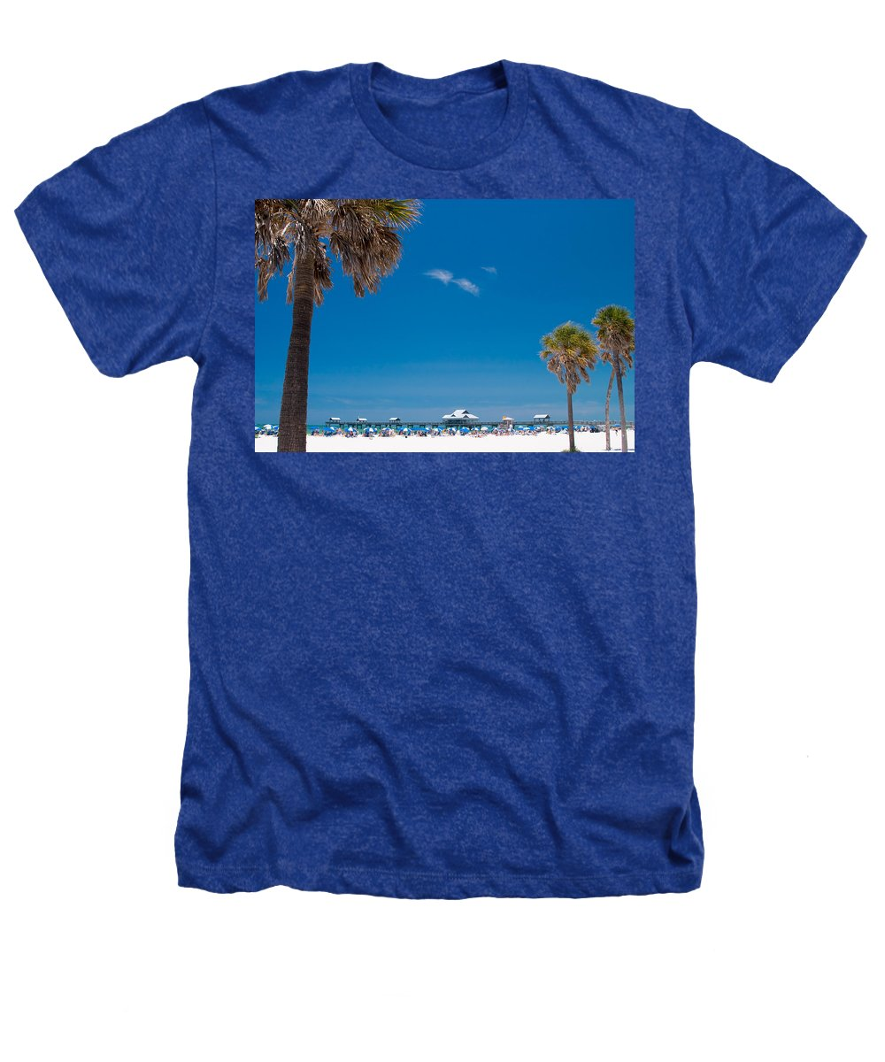 3scape Heathers T-Shirt featuring the photograph Clearwater Beach by Adam Romanowicz