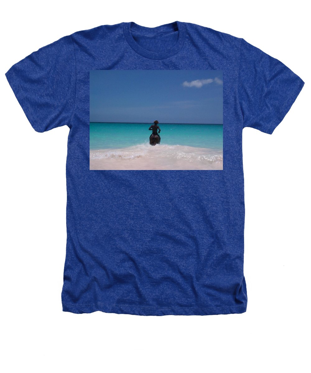 Charity Heathers T-Shirt featuring the photograph Cool Off Man by Mary-Lee Sanders