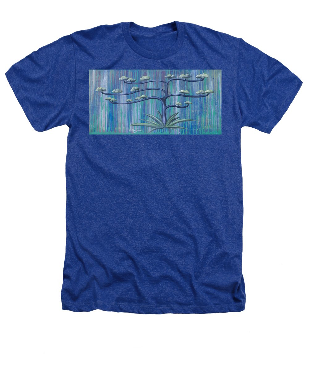 Tree Heathers T-Shirt featuring the painting Cross Tree by Kelly Jade King