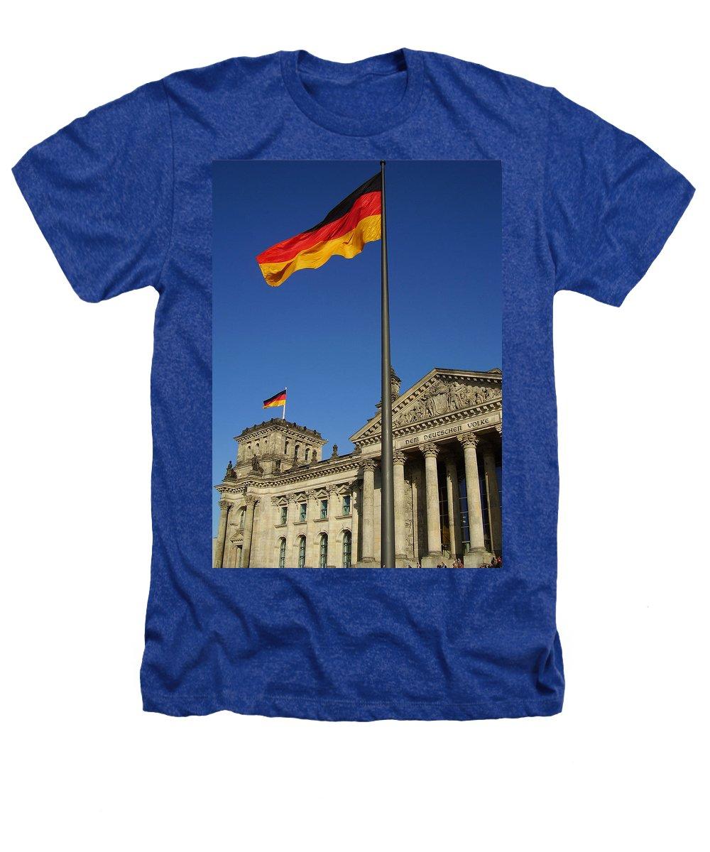 Deutscher Bundestag Heathers T-Shirt featuring the photograph Deutscher Bundestag by Flavia Westerwelle