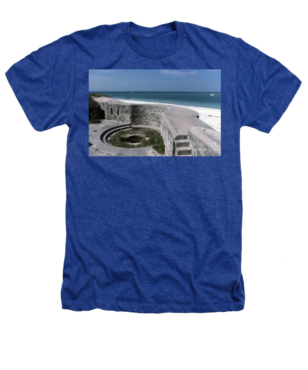 Beaches Heathers T-Shirt featuring the photograph Egmont Key by Richard Rizzo