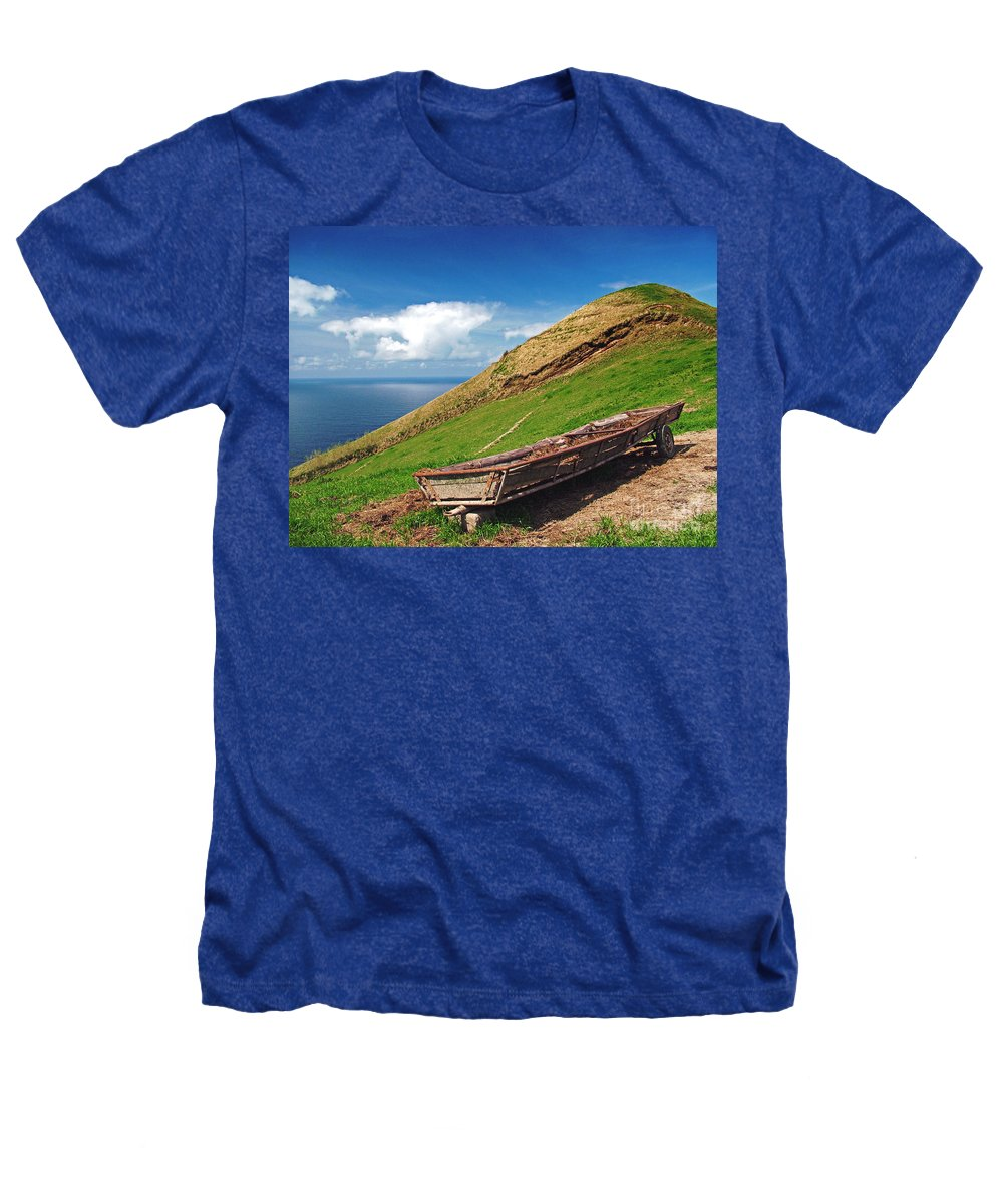 Europe Heathers T-Shirt featuring the photograph Farming In Azores Islands by Gaspar Avila
