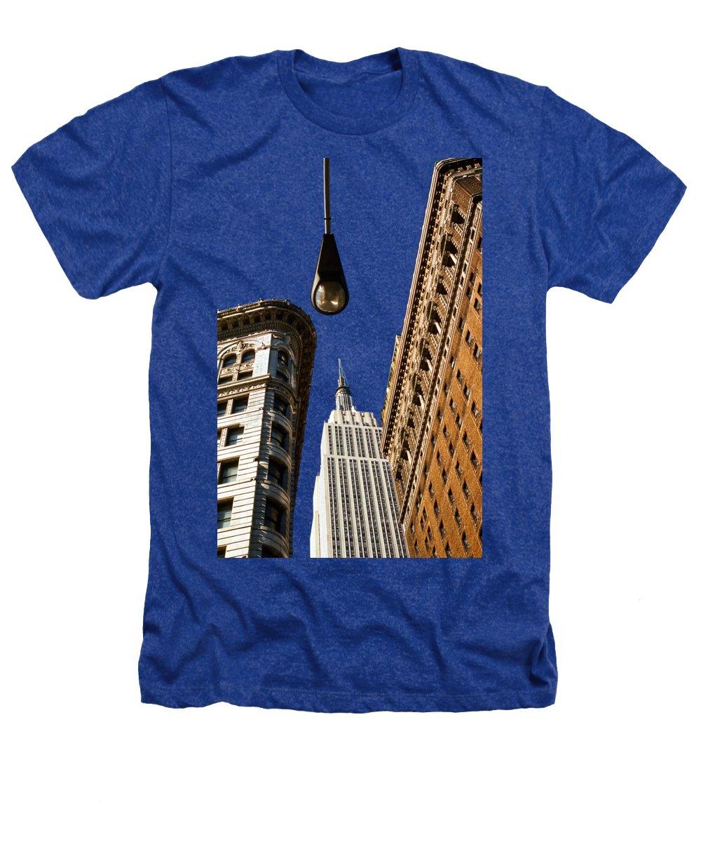 New York City Skyline Heathers T-Shirts