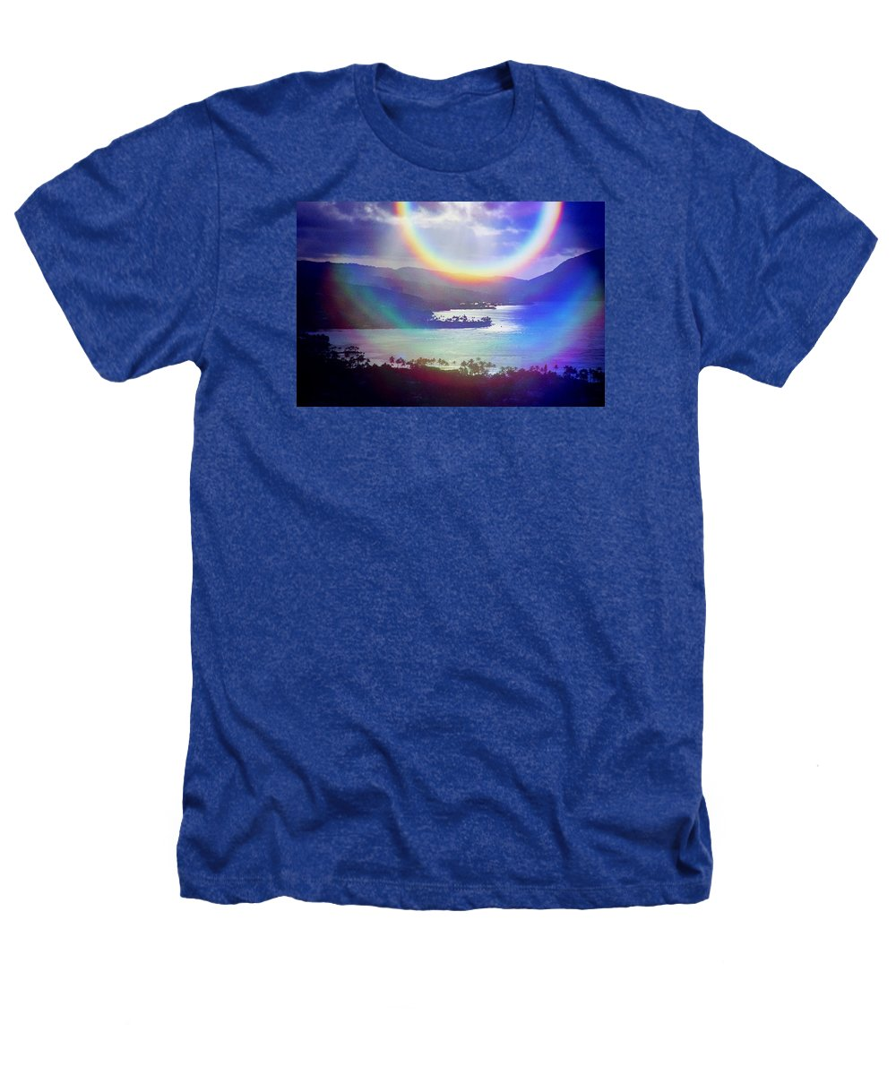 Maunalua Bay Heathers T-Shirt featuring the photograph Gods Eye by Kevin Smith