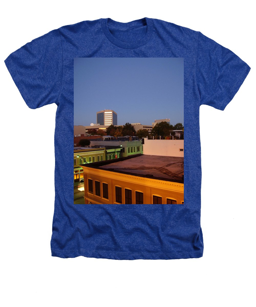 Greenville Heathers T-Shirt featuring the photograph Greenville by Flavia Westerwelle