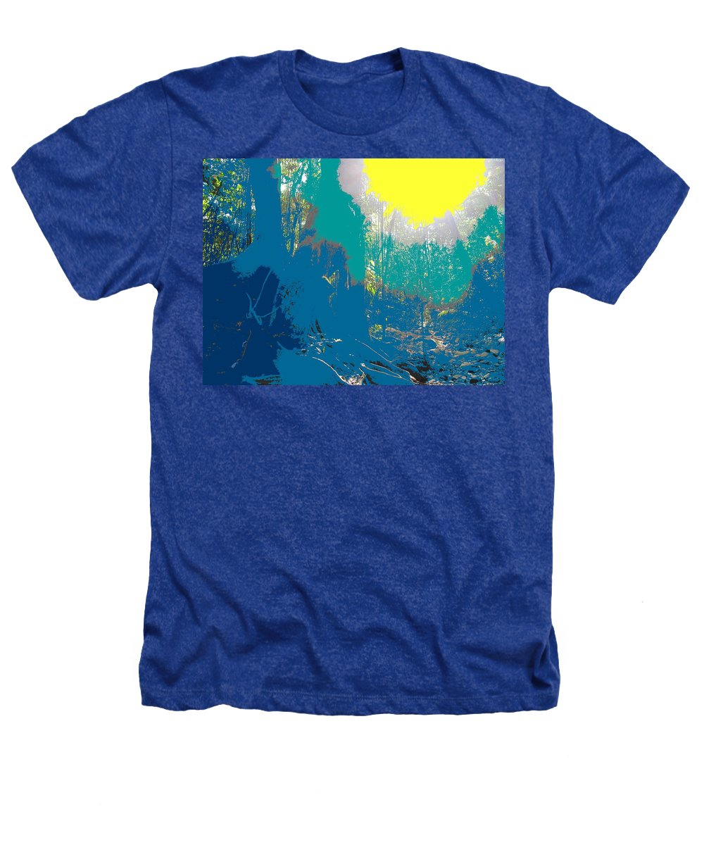 Rainforest Heathers T-Shirt featuring the photograph In The Rainforest by Ian MacDonald