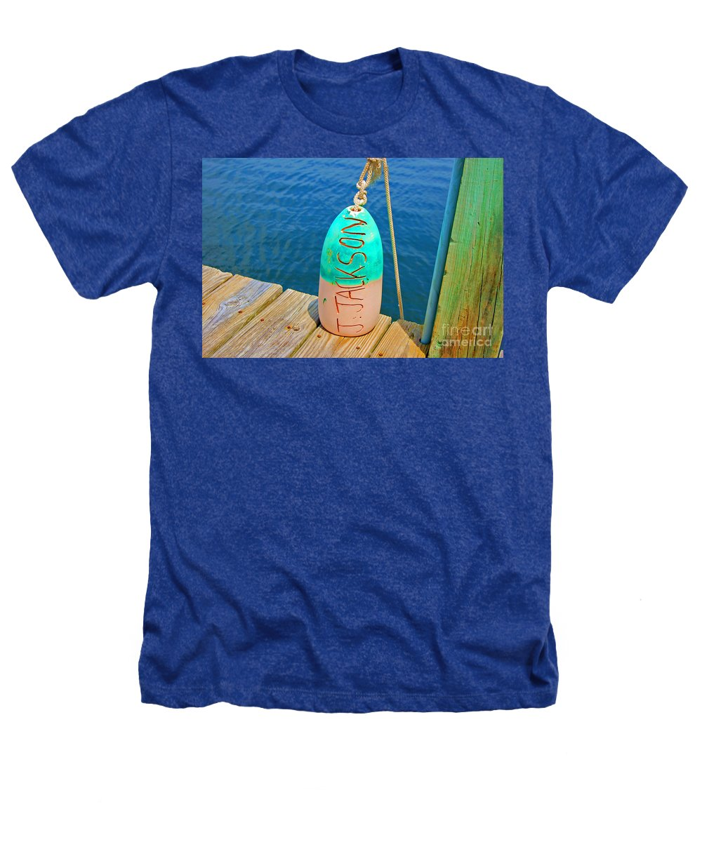 Water Heathers T-Shirt featuring the photograph Its A Buoy by Debbi Granruth