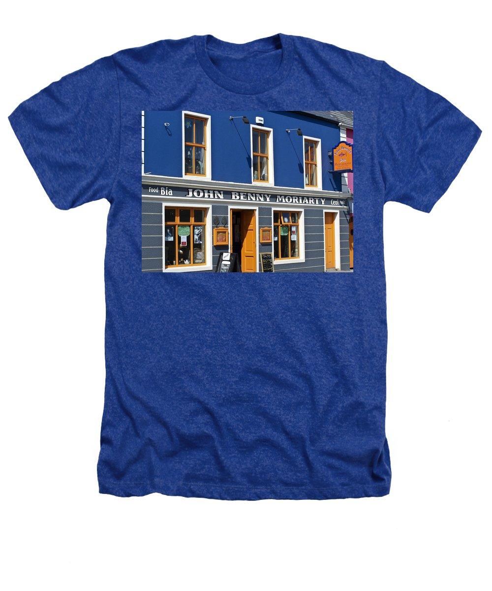 Irish Heathers T-Shirt featuring the photograph John Benny by Teresa Mucha
