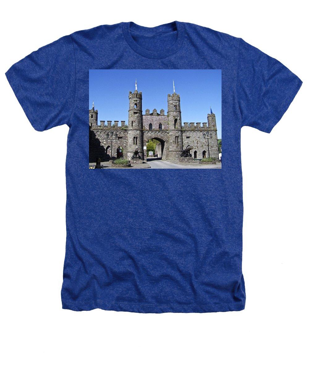 Irish Heathers T-Shirt featuring the photograph Macroom Castle Ireland by Teresa Mucha