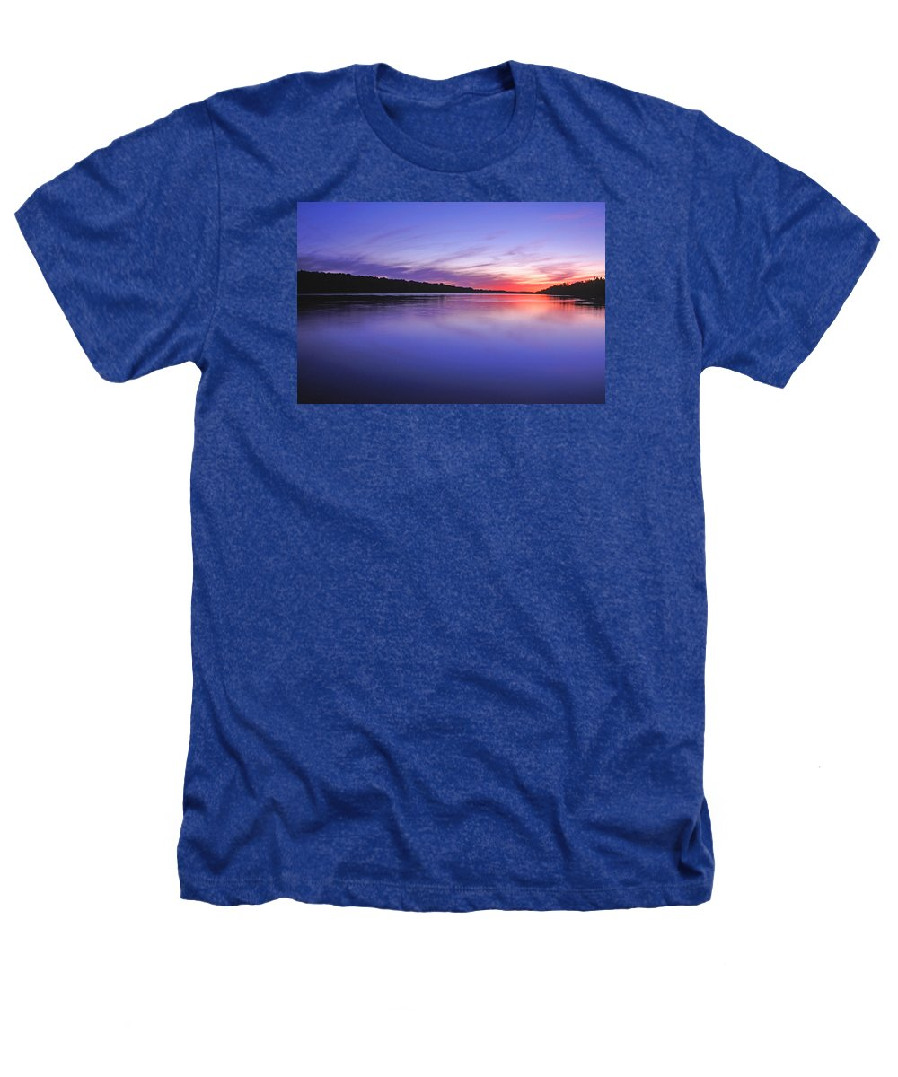 Landscape Heathers T-Shirt featuring the photograph Manidooziibi by Bill Morgenstern