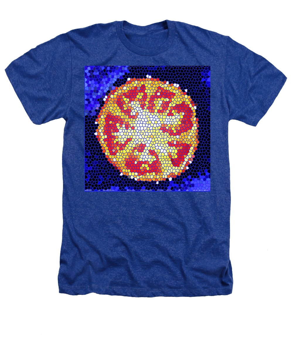 Tomato Heathers T-Shirt featuring the photograph Mosaic Tomato by Nancy Mueller