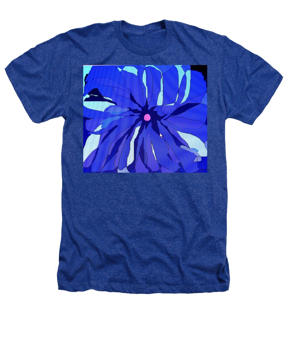 Flower Heathers T-Shirt featuring the digital art My Fantastic Flower by Ian MacDonald