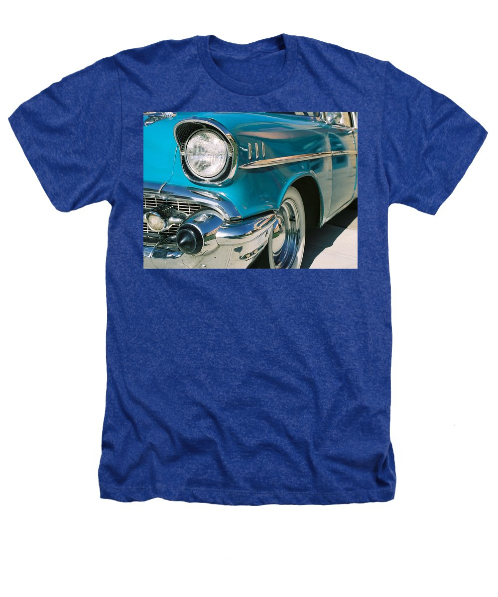 Chevy Heathers T-Shirt featuring the photograph Old Chevy by Steve Karol