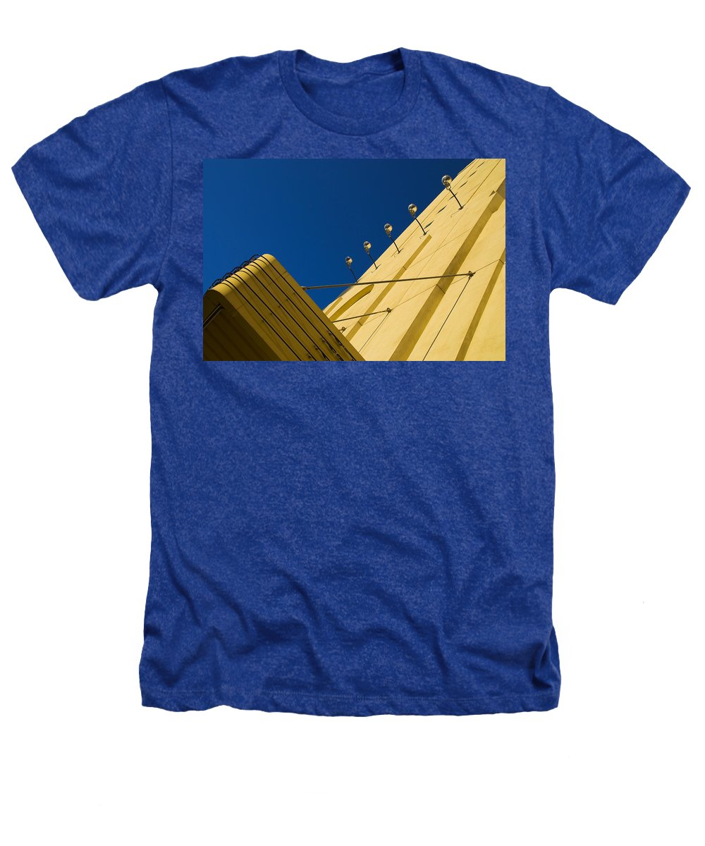 Electric Heathers T-Shirt featuring the photograph Old School Vegas by Skip Hunt
