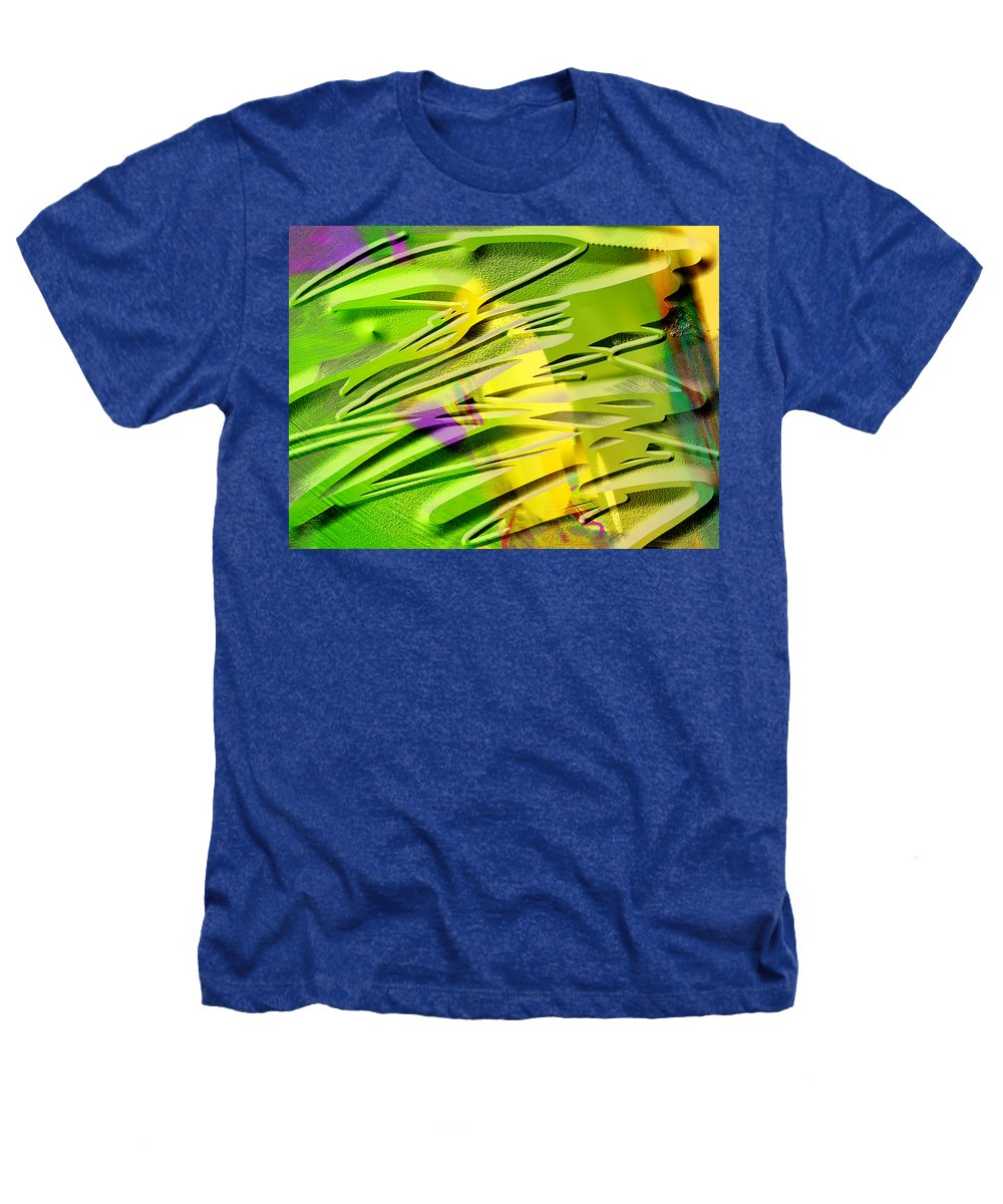 Scott Piers Heathers T-Shirt featuring the painting P39b by Scott Piers
