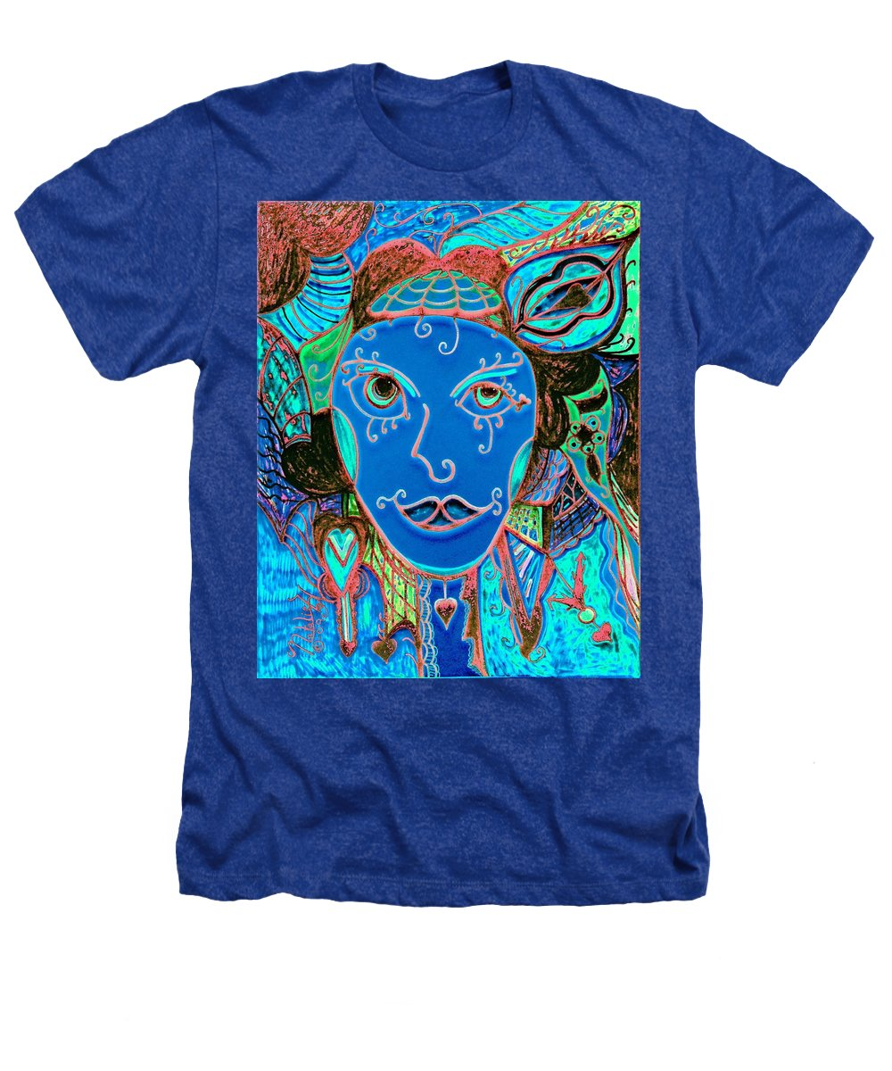 Party Girl Heathers T-Shirt featuring the painting Party Girl by Natalie Holland