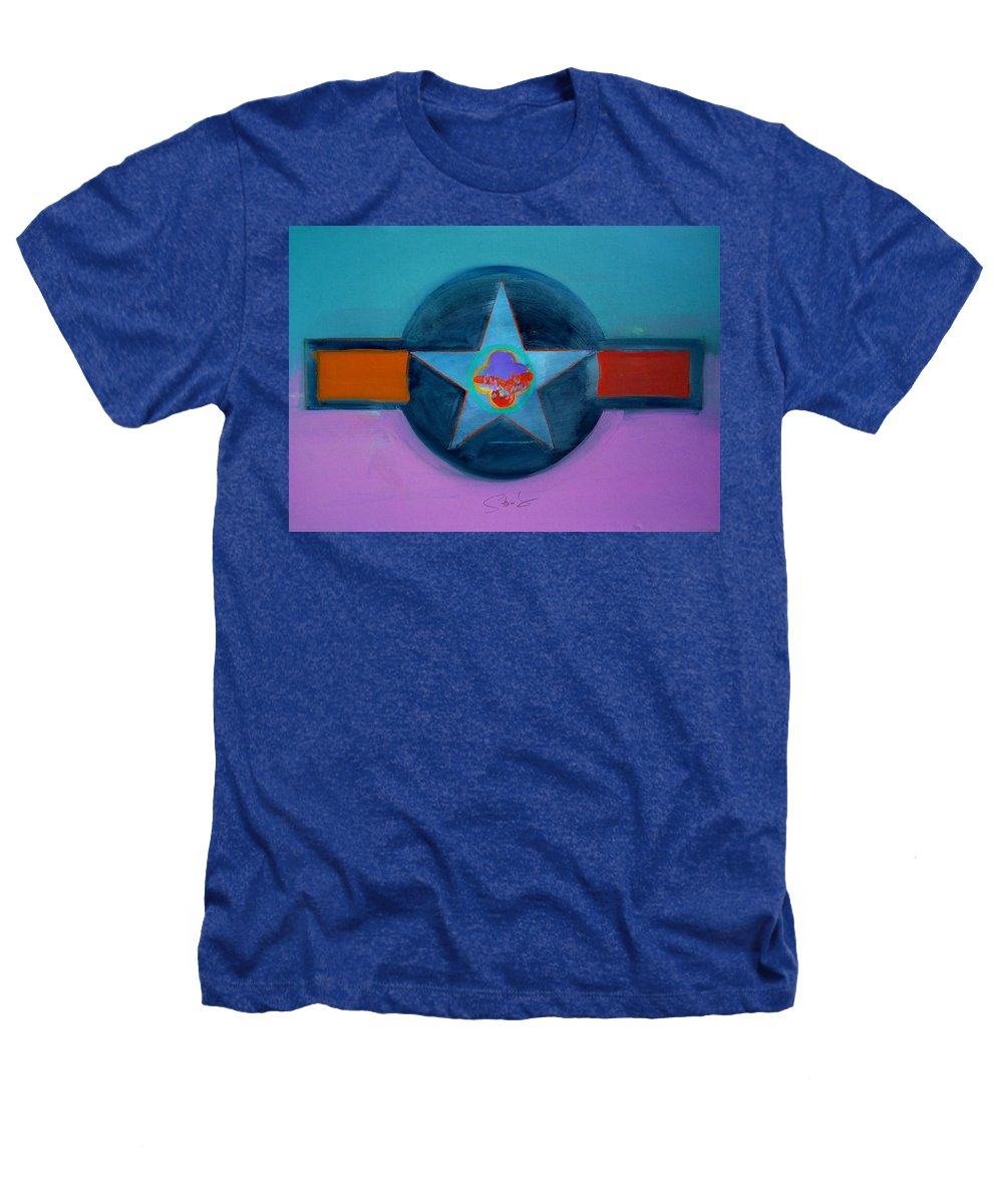 Star Heathers T-Shirt featuring the painting Rust Or Bust by Charles Stuart