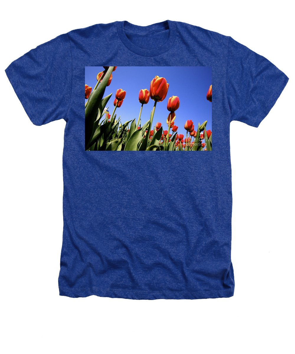 Tulips Heathers T-Shirt featuring the photograph Tulips Time 3 by Robert Pearson
