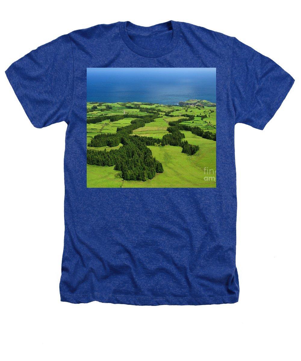 Landscape Heathers T-Shirt featuring the photograph Typical Azores Islands Landscape by Gaspar Avila