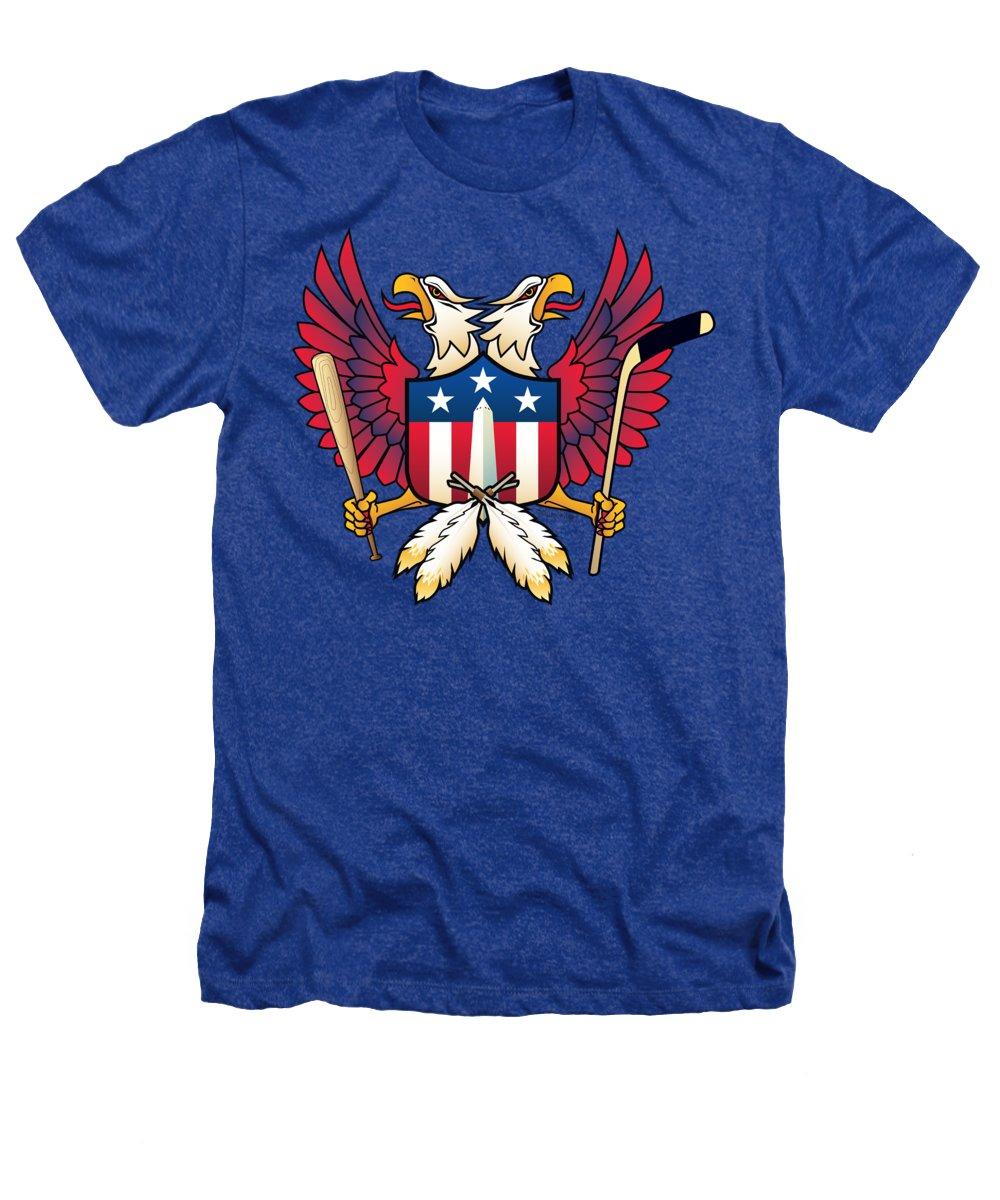Washington Monument Heathers T-Shirts